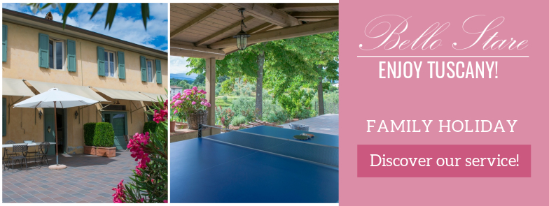 Bello Stare, the ideal place to spend a holiday in Tuscany with the family.